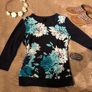 Ann Taylor sweater blouse